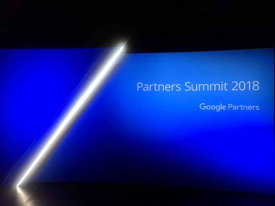 Google Partners Summit 2018 - Sydney - Carriageworks - Banner